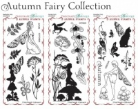Autumn Fairy Collection Rubber Stamp sheet Multi-buy - DL