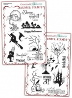 Bewitched Moonlight/Nevermore Rubber stamps Multi-buy - A5