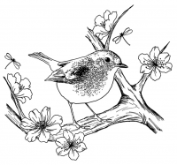 Crafty Individuals - Blossom Robin