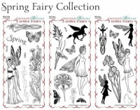 Spring Fairy Collection Rubber Stamps Multi-buy - DL