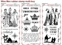 Wise Men Rubber Stamps Multi-buy - DL