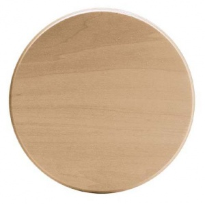 Basswood Thin Plaque 6'' Circle