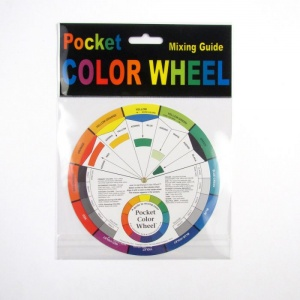 Mixing Guide Colour Wheel + bonus Pocket Guide to Mixing Colour
