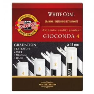 Ko-I-Noor- White Coals pack of 4 various gradations