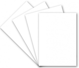 A4 White Cardstock 250gsm - 10pcs