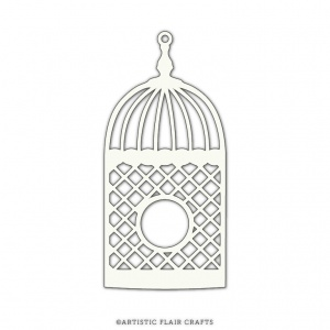 Artistic Flair 101 Piece (4'') - Open Bird Cage Mask