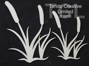 Tando Creative  Laser Cut Board - Bullrushes set 2
