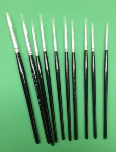 Chocolate Baroque 10pc Round Brush set