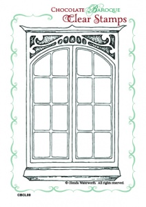 Dressmaker's Window Clear stamp set