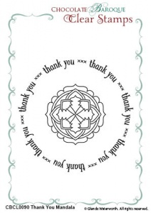 Thank You Mandala Duo Clear stamps