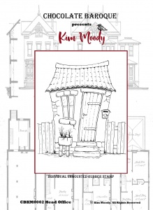 Kim Moody - Head Office A6 individual rubber stamp