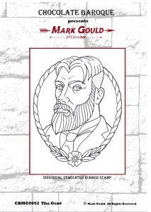 Mark Gould - The Gent individual unmounted rubber stamp - A6