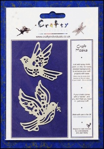 Crafty Individuals Mask - Sweet Flying Birds