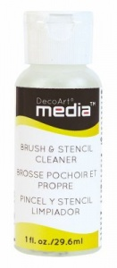 DecoArt Media - Brush & Stencil Cleaner