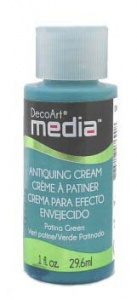 DecoArt Antiquing Cream - Patina Green