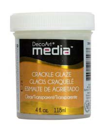 DecoArt - Crackle Glaze 4oz