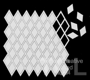 Tando Creative - Chipboard Diamond Grid