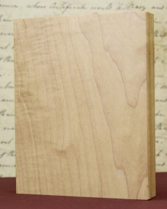 Wood Art Block - 12.3 x 9.6cm Rectangle
