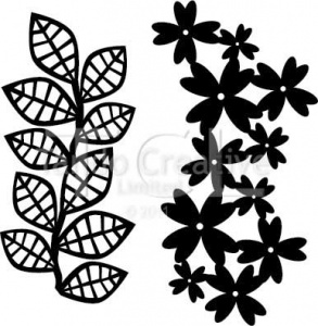 Tando Creative Mask - Leaves set of 2