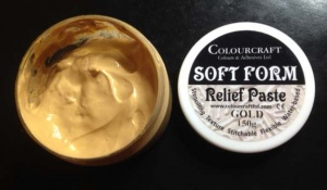 Soft Form Relief Paste - Gold