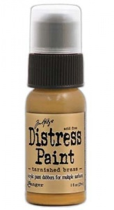 Tim Holtz Distress Paint - Tarnished Brass