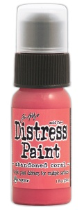 Tim Holtz Distress Paint - Abandoned Coral