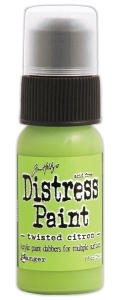 Tim Holtz Distress Paint - Twisted Citron