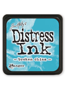Tim Holtz Mini Distress Ink Pad - Broken China