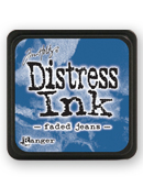 Tim Holtz Mini Distress Ink Pad - Faded Jeans