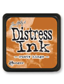 Tim Holtz Mini Distress Ink Pad - Rusty Hinge