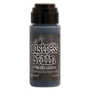 Tim Holtz Distress Stain Black Soot