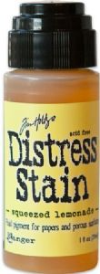 Tim Holtz Distress Stain Squeezed Lemonade