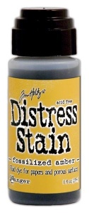 Tim Holtz Distress Stain Fossilized Amber