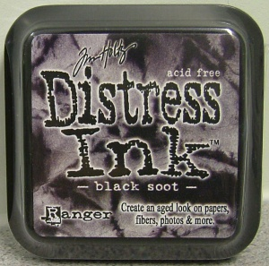 Black Soot Distress Ink Pad