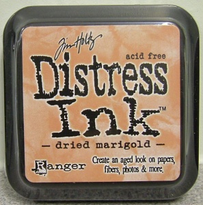 Dried Marigold Distress Ink Pad