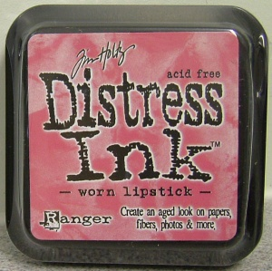Worn Lipstick Distress Ink Pad