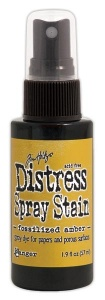 Tim Holtz Distress Spray Stain - Fossilized Amber