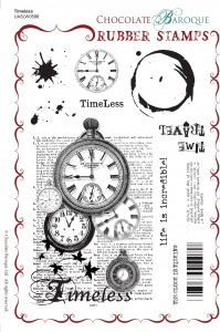 Timeless Rubber Stamp sheet - A5