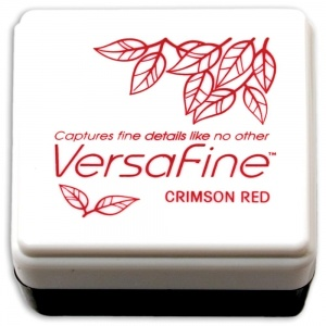Versafine Small Inkpad Crimson Red
