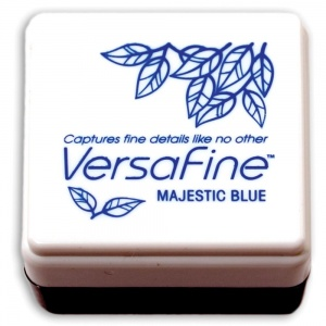 Versafine Small Inkpad Majestic Blue