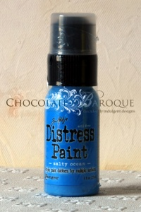 Tim Holtz Distress Paint - Salty Ocean