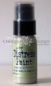 Tim Holtz Distress Paint - Shabby Shutters
