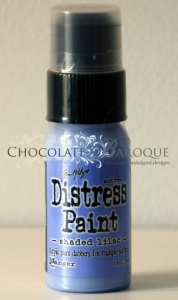 Tim Holtz Distress Paint - Shaded Lilac