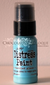 Tim Holtz Distress Paint - Tumbled Glass