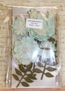 Little Birdie Flowers Multi-buy - Mint Mist 3 packs 30pcs