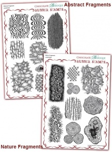 NatureFragments/Abstract Fragments Rubber stamps Multi-buy - A4