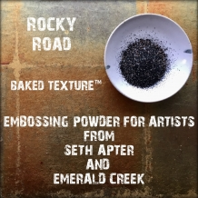 Seth Apter Baked Texture Embossing Powder - Rocky Road