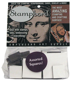 1/2 lb bag of Assorted squares Stampbord