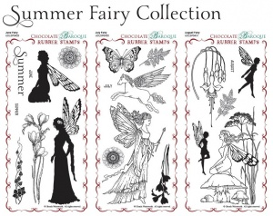Summer Fairy Collection Rubber Stamps Multi-buy - DL
