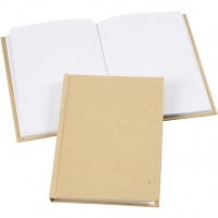 A6 Kraft Hardcover Notebook